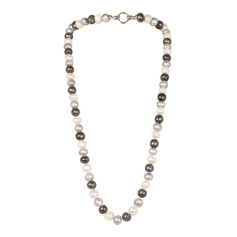 "DARK MIX 34"" BAM BAM NECKLACE"