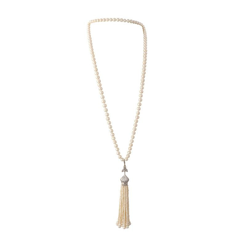 GATSBY SINGLE TASSEL NECKLACE