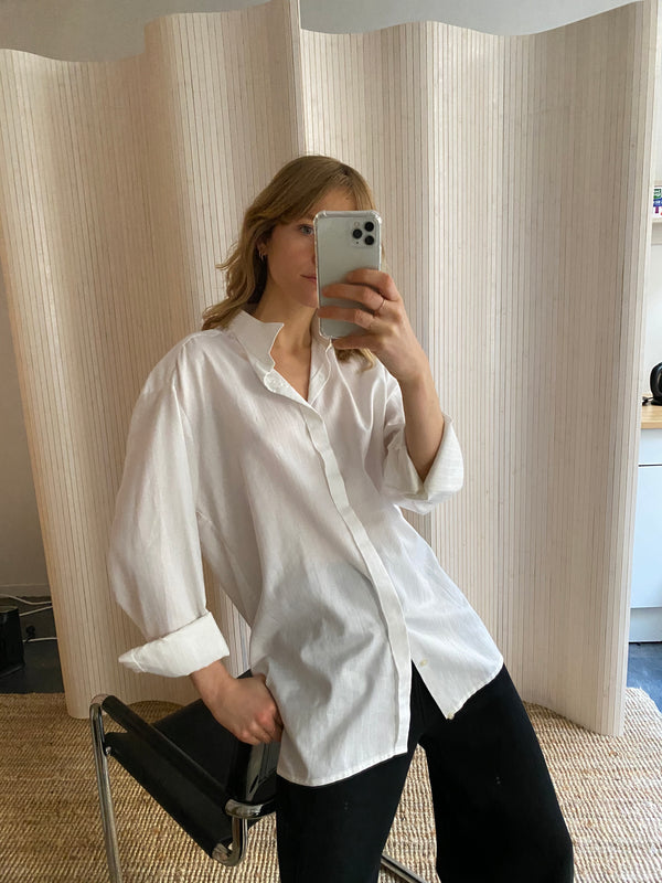 chemise blanche loose #1