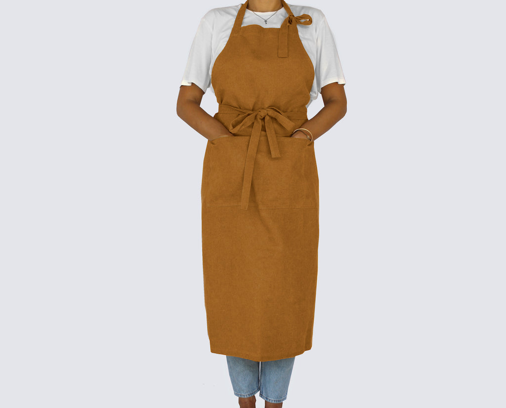 Natural Tan Full Apron - Kain & Wares