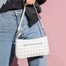 Load image into Gallery viewer, Chequered Shoulder Bags