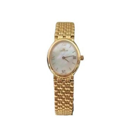 Orologio donna oro 18 kt Bracciale Oro Solid Gold Ladies Swiss Lorenz 323190AW