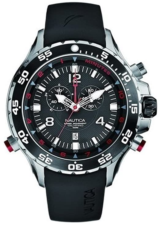 Orologio Uomo Cronografo Nautica NST YACHTIMER A36002G Mens watches chronograph