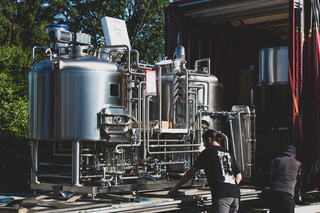 Ogma Brewing Co. Brewhouse