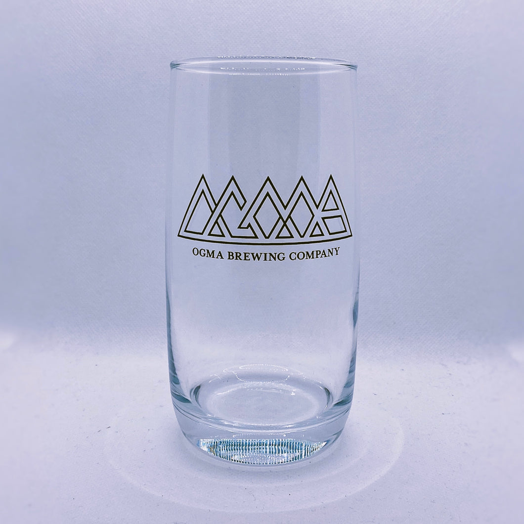 Original Ogma Logo, 20 oz. Glass