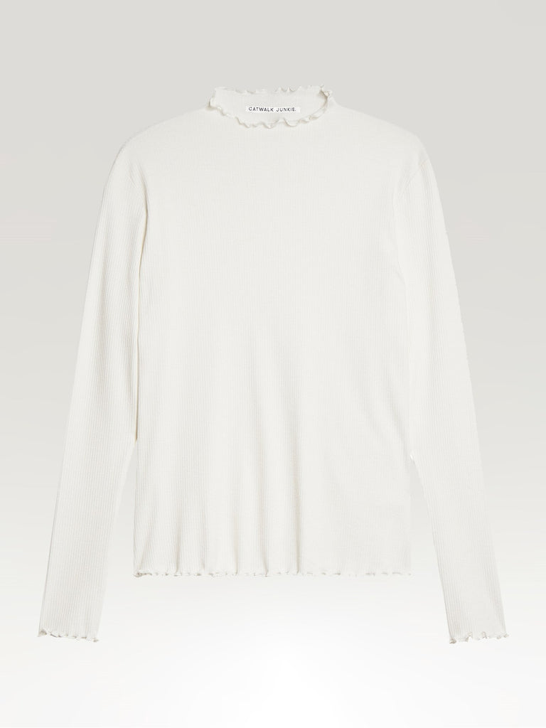 Catwalk Junkie Long Sleeve Kate Off White