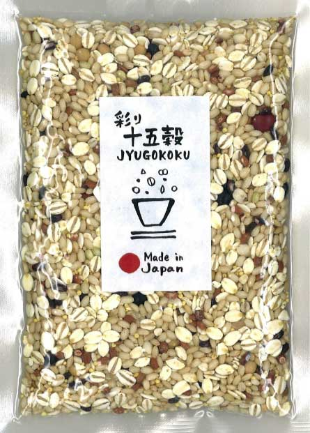 Millet for Rice 15 grains -彩り十五穀- 150g