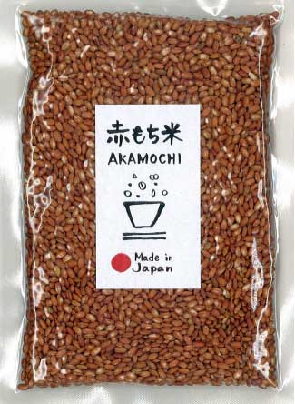 "Millet ""Red Glutinous Rice (Ancient Rice)"" -赤もち米- 150g"