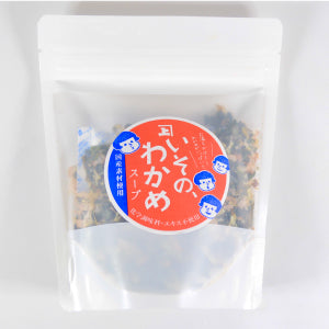 Instant Soup Natural Dry -いその、わかめスープ-