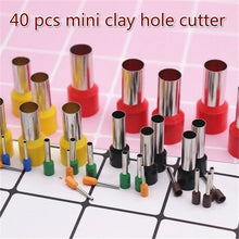 Load image into Gallery viewer, 40 pcs round sculpting tool