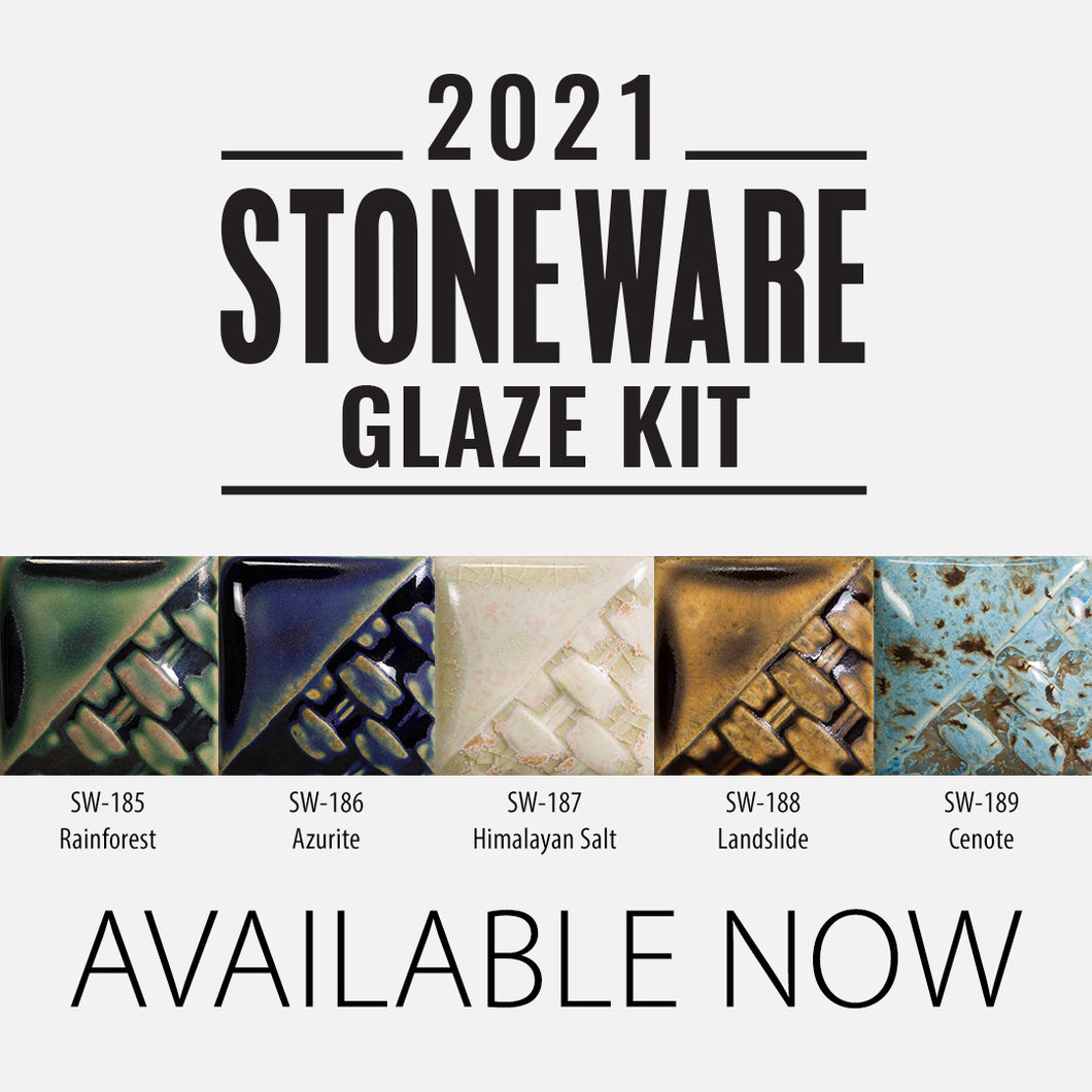 2021 Stonware Glaze Kit  (4OZ)