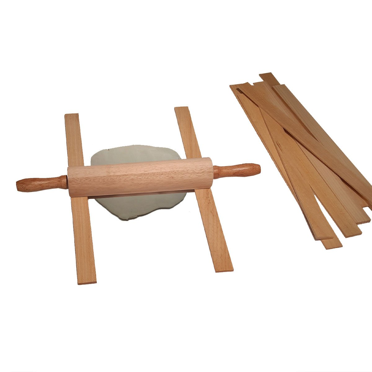 Thickness Strips, Set of 3 Bamboo