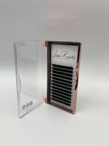 Lash Extensions - 0.07 Volume Single Length Tray