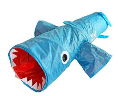 "JAWS SHARK 38"" CAT TUNNEL - Pets 5th Avenue"