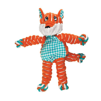Floppy Knots Fox Dog Toy - Pets 5th Avenue