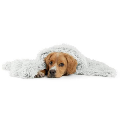 Calming Shag Dog & Cat Throw Blanket - Frost - Pets 5th Avenue