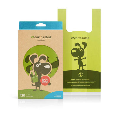 Poop Bags Handle Bags- Unscented - Pets 5th Avenue
