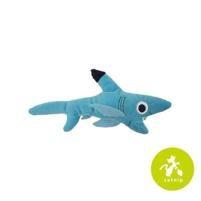 Shark Biter Cat Toy with Catnip & Silvervine - Pets 5th Avenue