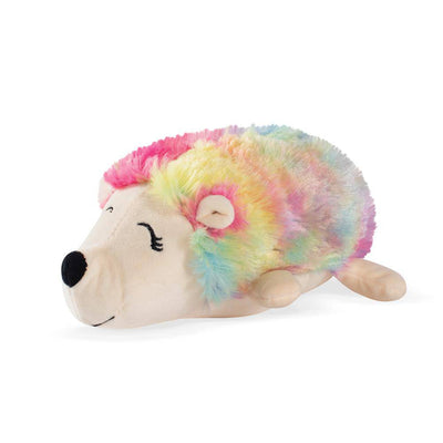 Rainbow Hedgehog Plush Dog Toy - Pets 5th Avenue