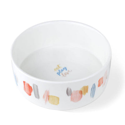 Happy Brush Marks Pet Bowl - Pets 5th Avenue