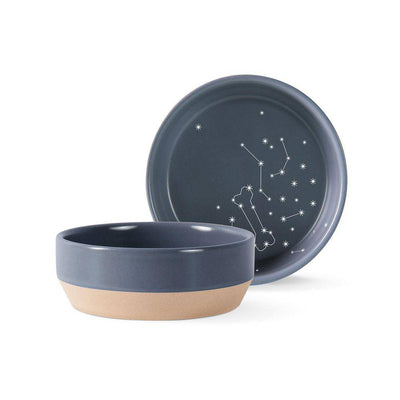 Celestial Stoneware Pet Bowl - Pets 5th Avenue