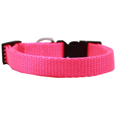 Plain Nylon Cat Safety Collar - Pets 5th Avenue