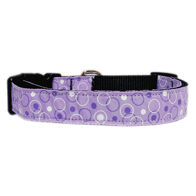 Retro Nylon Ribbon Dog Collar - Pets 5th Avenue