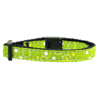 Retro Nylon Ribbon Cat Safety Collar - Pets 5th Avenue