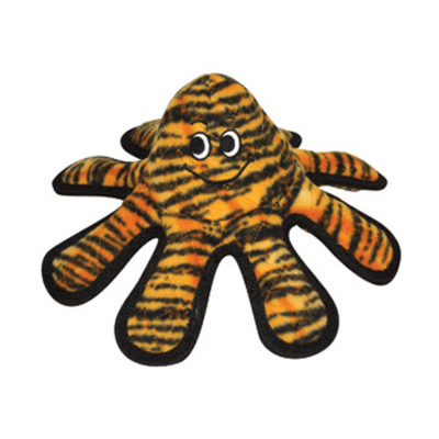 MEGA™ Octopus Tiger Print Squeaky Dog Toy - Pets 5th Avenue