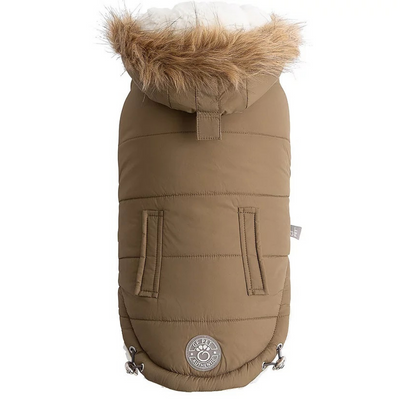 Urban Parka Dog Coat- Khaki - Pets 5th Avenue