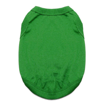 Cotton Dog Tank - Emerald Green - Pets 5th Avenue
