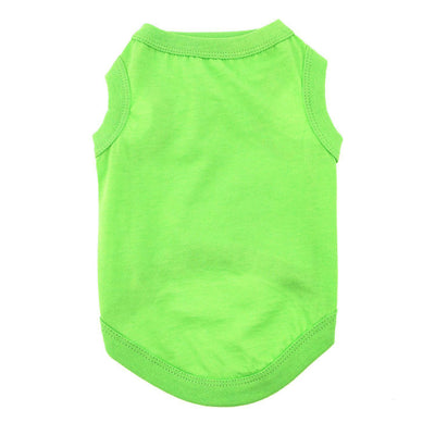 Cotton Dog Tank - Green Flash - Pets 5th Avenue