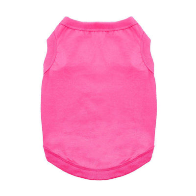 Cotton Dog Tank - Raspberry Sorbet - Pets 5th Avenue