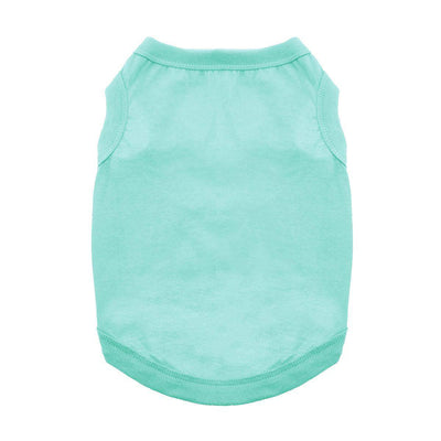 Cotton Dog Tank - Teal - Pets 5th Avenue