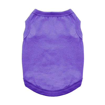 Cotton Dog Tank - Ultra Violet - Pets 5th Avenue