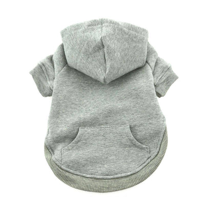 Flex-Fit Dog Hoodie - Gray - Pets 5th Avenue