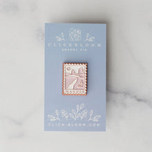 Load image into Gallery viewer, Postage Stamp Desert Wander Enamel Pin