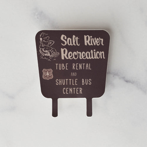 Salt River Tubing Tonto National Park Vinyl Sticker Decal