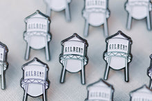 Load image into Gallery viewer, Gilbert Arizona Water Tower Enamel Pins