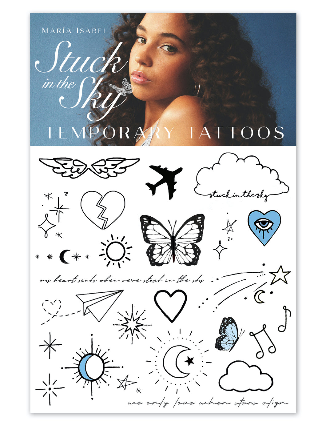 Stuck in the Sky Temporary Tattoos