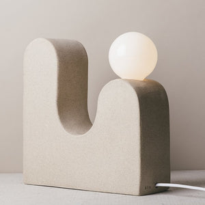 Rolling Hills Table Lamp, Speckled