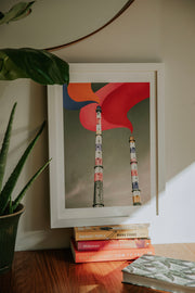 The Dublin Series || Poolbeg Chimneys - BlankSlate Shop