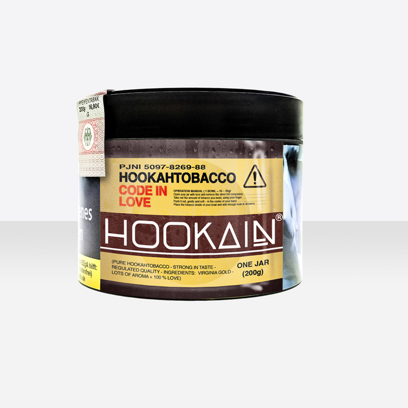 Hookain Tobacco | Code in Love | 200g