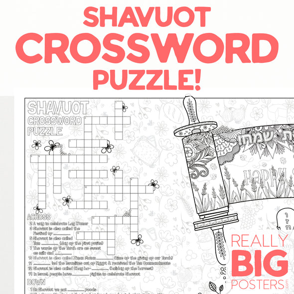 Shavuot Coloring Poster