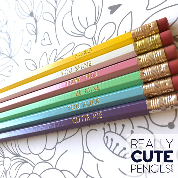 Sweetheart Pencil Set *READY TO SHIP*