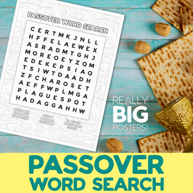 Passover Word Search **Instant Digital Download**