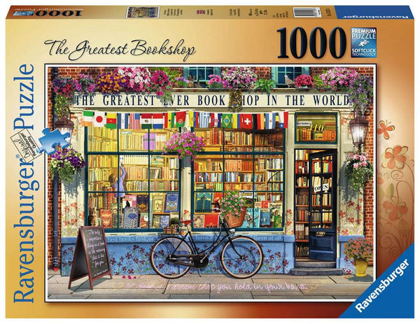 Ravensburger 15337 The Greatest Bookshop 1000p Puzzle