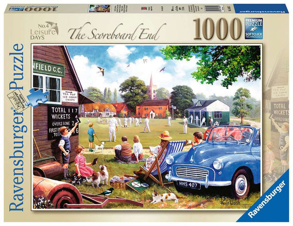 Ravensburger 16485 Leisure Days No 4 The Scoreboard End 1000p Puzzle