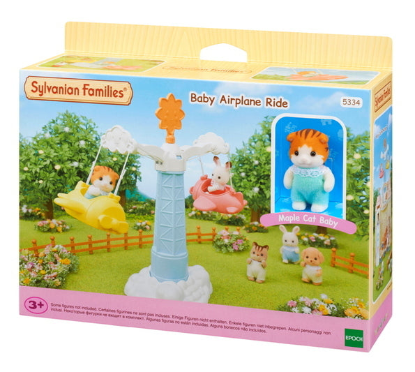Sylvanian Families    5334    Baby Airplane Ride
