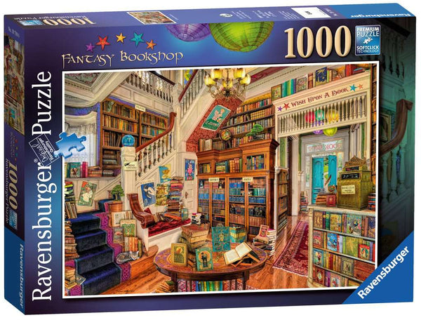 Ravensburger 19799 The Fantasy Bookshop 1000p Puzzle